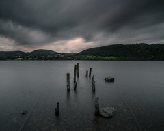 Remains (.Brian Kerr Photography.) Tags: sunrise landscape rocks availablelight jetty lakes lakedistrict cumbria rails posts ze ullswater zeiss21mm canon6d distagont2821 briankerrphotography