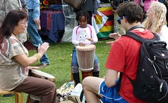 Africa Oye. (Puerto De Liverpool.) Tags: england liverpool drums drumming seftonpark merseyside toxteth freefestival africandrums aigburth annualevent africaoye africanculture freeevent europeancapitalofculture2008 liverpoolculture peopledrumming theukslargestafricanculturefestival