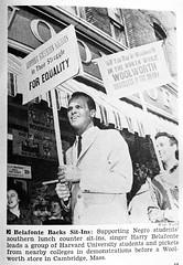 Harry Balafonte Backs Civil Rights Sit-Ins - Jet Magazine, May 5, 1960 (vieilles_annonces) Tags: cambridgemass harrybelafonte may1960 harvarduniversityhistory civilrightssitins