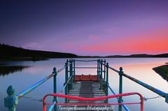 Loch Glow (Tamsyn Brown Photography) Tags: longexposure sunset scotland nikon fife filter kit kelty cokin gradual lochglow d5100