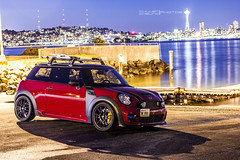 R56 (CullenCheung) Tags: seattle washington s cooper minicoopers thule jcw stoptech johncooperworks r56 ozultraleggera
