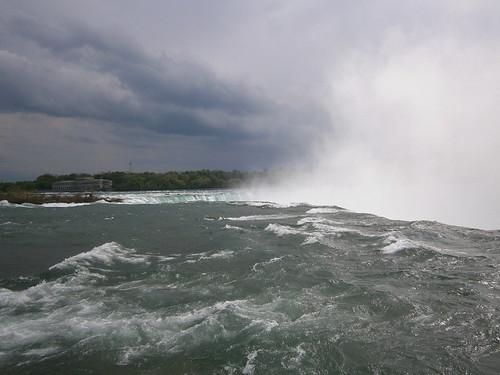 Edge of Niagara Falls