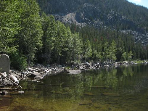 montana unitedstates goldcreeklake beaverheaddeerlodgenationalforest rosemountain flintcreekrange goldcreeklakes southgoldcreek