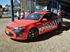 2013 FPV FG F6 Typhoon sedan - NSW Police