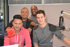 Danilo Acquisto in studio on Heart Breakfast