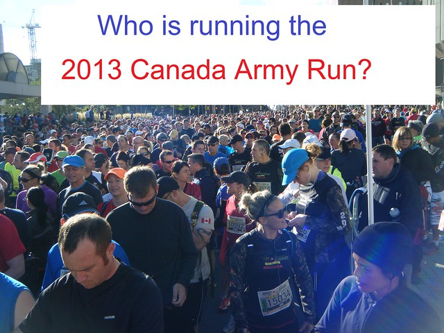 2013 Canada Army Run: local half-marathon runners  (page 2 of 2)