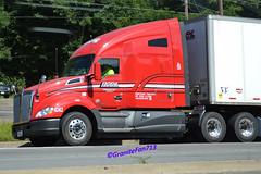 Roehl Transport Kenworth T680 (Trucks, Buses, & Trains by granitefan713) Tags: kenworth tractortrailer roehl trucktractor kenworthtruck roehltransport kenwortht680