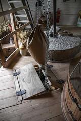 Windmill sack hoist working (2c) - stone floor (nican45) Tags: york slr mill windmill canon yorkshire grain sack dslr tamron holgate 600d 18270 stonefloor hwps holgatewindmill 18270mm sackhoist eos600d 18270mmf3563diiivcpzd stonesfloor