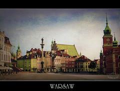 Warszawa (Warsaw) (BlueMaury) Tags: texture town capital poland warsaw capitale polonia warszawa unescosworldheritage varsavia ringexcellence dblringexcellence