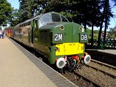 D6732 Holt North Norfolk Railway 28th September 2013 (Cooperail) Tags: uk electric train br diesel north norfolk railway east locomotive holt sheringham anglia ger lner dmu weybourne mgn 2013 d6732
