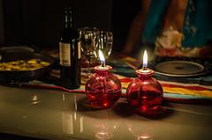 Dinner (Melissa Maples) Tags: red food lamp night dinner turkey 50mm glasses nikon asia candles wine trkiye alcohol nikkor afs adrasan   50mmf18g f18g d5100