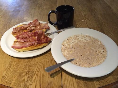 Traveller-Frühstück