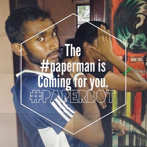 #comingsoon the #paperman is coming for you. #paperbot wants you. #thep413mob