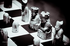 The Lewis Chessmen (steff808) Tags: inglaterra england blackandwhite bw london blancoynegro nikon noiretblanc londres angleterre britishmuseum biancoenero nikond90 thelewischessmen nikon18105