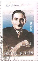 USA Irving Berlin stamp (sftrajan) Tags: usa berlin unitedstates stamps stamp irving godblessamerica whitechristmas timbre composer postagestamp philately irvingberlin sello briefmarke  francobollo