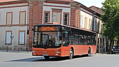 Albi - MAN Lion's City (Jojovichy) Tags: city man bus lions lc albi