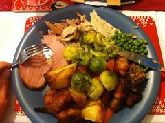 249-365 (Year 7) Christmas dinner :) (♔ Georgie R) Tags: food dinner plate christmasdinner werehere hereio