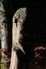 In the shadow (II) (dididumm) Tags: wood light shadow sunlight man face sunshine licht wooden gesicht shadows hidden mann holz schatten sonnenschein versteckt mnnchen hlzern verborgen sonnenlicht ausholz