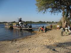 ferry inKazungula (aishe's photography) Tags: africa people ferry river waiting leute border afrika botswana fluss fähre zambia zambezi warten sambesi sambia botsuana mygearandme zungula
