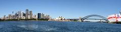 Sydney (CarloAlessioCozzolino) Tags: sea mare sydney australia panoramica sydneyoperahouse sydneyharbourbridge panoramicview thesydneytowereye