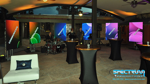 """LED Tiles Used for networking reception • <a style=""""font-size:0.8em;"""" href=""""http://www.flickr.com/photos/57009582@N06/12141081256/"""" target=""""_blank"""">View on Flickr</a>"""