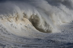 Wave (Ahio) Tags: winter sea storm water waves pentax spray 300mm february olas llanes ribadesella 2014 marcantábrico smcpentaxda300mmf40edifsdm pentaxk5