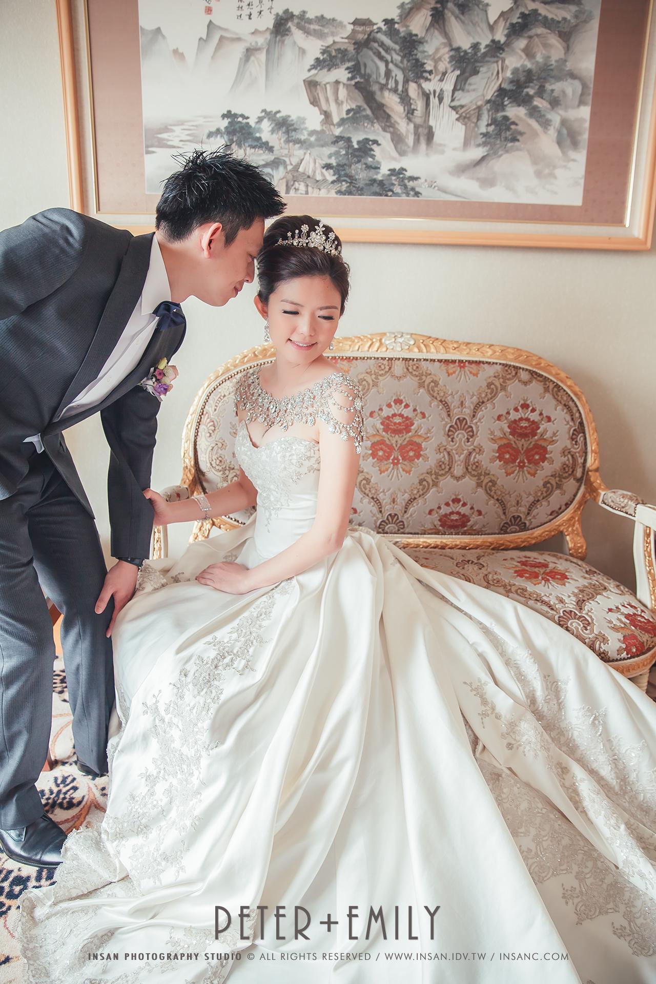 [婚禮記錄] Peter+Emily // 文定 @ {高雄麗尊酒店}