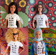 You Are Beautiful, Too! (missdesigndiva) Tags: doll dolls hijab barbie bodyimage aabarbie thedollproject grandmabarbie fulladoll