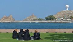 Riyam Park with Frankincense burner, Muscat, Oman (Sekitar) Tags: park arabian burner oman muscat sultanateofoman sultanate frankincense riyam mascat