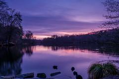 Coye-La-Fort (Julianoz Photographies) Tags: lake nature sunrise landscape nikond7000 nikkorafsdx18105mmvr julianozphotographies