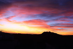 Sunset (bwz_ontopoftheworld) Tags: california sunset sky usa cloud nature ecology colors clouds landscape evening scenery skies desert sundown dusk environment multicolored sunrays environmentalism magichour nightfall ecosystem sunsrays inlandempire