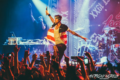 Machine Gun Kelly @ The Intersection (Grand Rapids, MI) - 4.16.14 (Anthony Norkus Photography) Tags: boy usa broken up photography foot photo spring downtown gun baker tour photos pics lace michigan live wheelchair leg rich bad machine grand pic tony rapids cast richard anthony kelly intersection hiphop hip hop rap crutches 2014 mgk interscope machinegunkelly 19xx norkus richardcolsonbaker