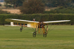 Bleriot XI - 1 (NickJ 1972) Tags: autumn aviation collection airshow shuttleworth 2012 bleriot xi airday oldwarden gaang