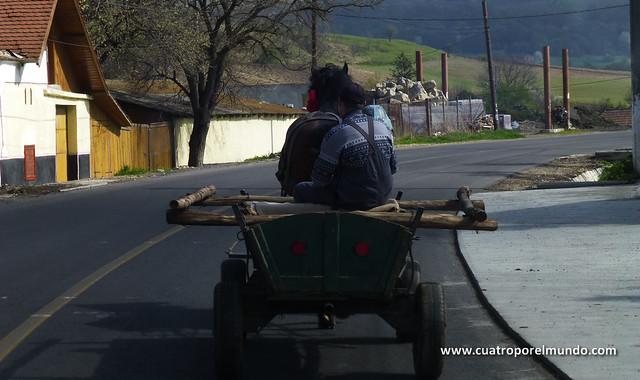 En las carreteras rumanas es donde más carros hemos visto en todo el viaje