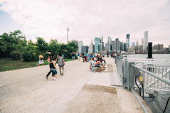Brooklyn bridge park ( Nino) Tags: park street new york city nyc newyorkcity bridge people urban usa ny newyork apple skyline brooklyn skyscraper big cityscape skyscrapers state bronx harlem manhattan candid queens empire