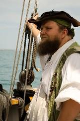 John T. Hawser at sea (Pahz) Tags: chicago pirates windy lakemichigan greatlakes navypier tallship bristolrenaissancefaire chicagoillinois tallshipwindy bristolpirates