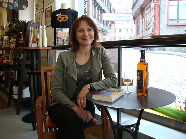 Autoreninterview Sybille Baecker in Tübingen, 23.04.14