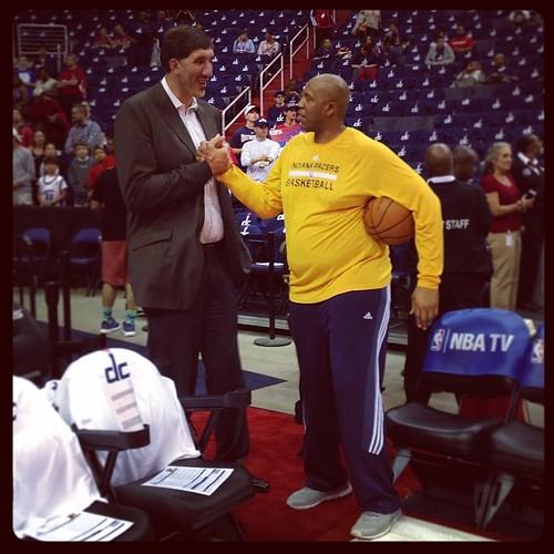 Gheorghe Muresan & Popeye Jones = #BasketPals, #exWizards