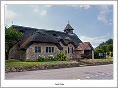 Thatched Roof Church At Freshwater (flatfoot471) Tags: summer england church hampshire isleofwight freshwater