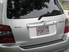 PONTIA (Mark Sardella) Tags: cars car tag tags licenseplate vanityplate vehicles license vehicle plates numberplate motorvehicles personalisedplate personalizedplate