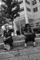 (TheJeremyNix) Tags: life people blackandwhite usa candid streetphotography society