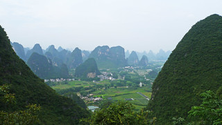 View from Moon Hill, Yangshuo