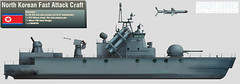 North Korean Missile Boat (Covert Shores - HISutton) Tags: dprk northkorean missileboat