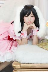 P55_013 (ms09Dom) Tags: cosplay コスプレ 東方project 因幡てゐ 五木あきら itsukiakira