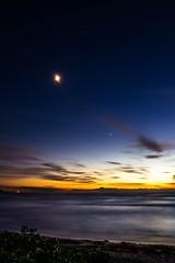 Morning star (.Stephen..Brennan.) Tags: seascape beach sunrise nightscape centralcoast bateaubay da21 pentaxk3