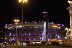 Barcelona - Las arenas (Ernesto Imperato) Tags: barcelona canon eos spain espana 7d barcellona spagna catalunia catalogna lasarenas cataluna plaadetoros