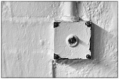 Day #2600 (cazphoto.co.uk) Tags: old white switch painted off lightswitch elstree project365 120215 canoneos100d canon40mmeff28stm beyond2557