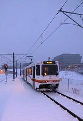 West Line (atjoe1972) Tags: morning snow storm cold train golden colorado trolley w siemens blues denver line commuter lightrail monday 125 sd100 rtd lrv atjoe1972 regionaltransitdistrict