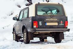 Lada Niva (Luky Rych) Tags: lada niva car automotive 4x4 winter snow 100d 50mm worldcars
