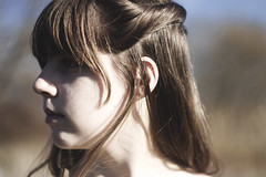 IMG_9480 (aishejonelle) Tags: blue trees portrait sky people green nature girl grass dress outdoor free preraphaelite